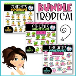 Collants numériques BUNDLE Tropical