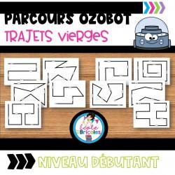 Parcours OZOBOT vierges (débutant)