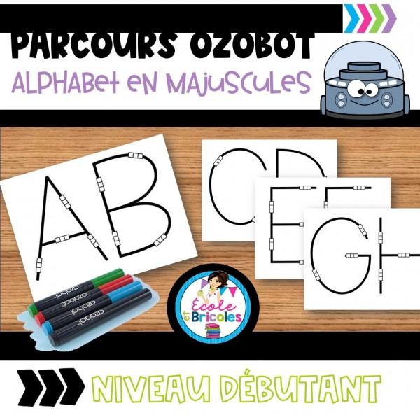 Parcours OZOBOT-Alphabet en majuscules (débutant)