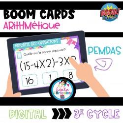 Boom  Cards-PEMDAS