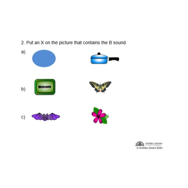 B sound - evaluation