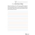 Situation d'écriture - L'étoile filante de Pâques