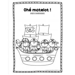Cahier math révision première année - Thème pirate