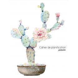 Planificateur sans date - modèle cactus