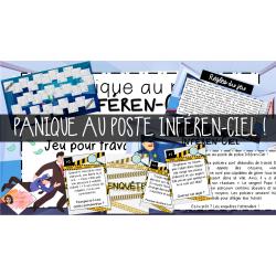 Panique au poste Inféren-Ciel !