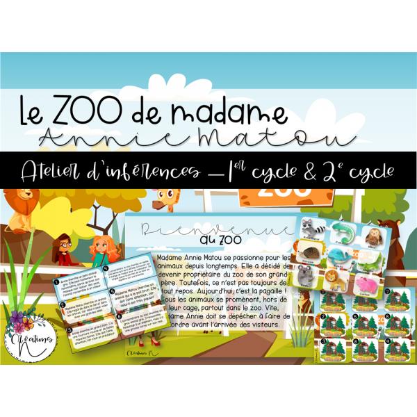 Le zoo de madame Annie Matou