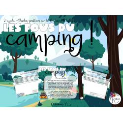 Les fous du camping !