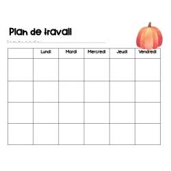 Plan de travail - Octobre_gabarits