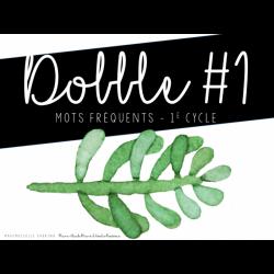Dobble - mots fréquents #1