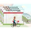 Léonie à bicyclette - 1er cycle