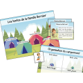 Camping en famille - Lecture