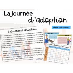 La journée d'adoption - Atelier d'inférences