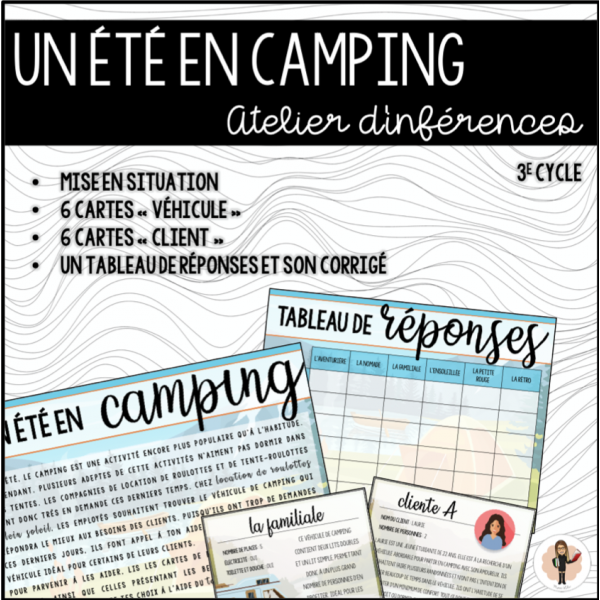 Un été en camping - INFÉRENCES
