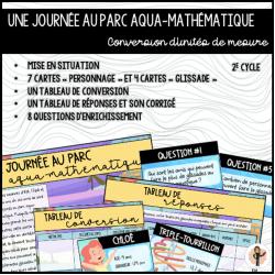 Journée au parc aqua-mathématique