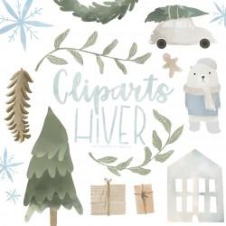 Cliparts d'hiver ❄️