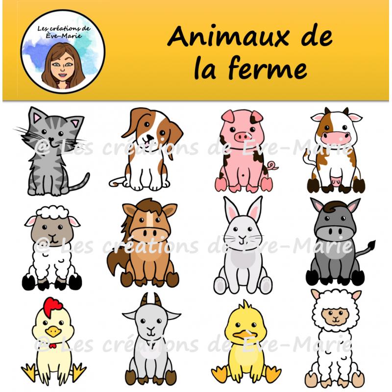 Clipart Animaux De La Ferme