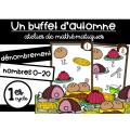 Un buffet d'automne - Atelier de dénombrement