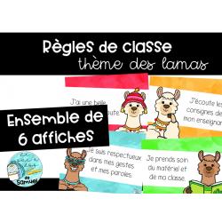 Règles de vie - Les lamas