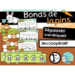 Bonds de lapins - Atelier mathématiques