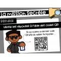 La mission secrète: Défis avec codes QR