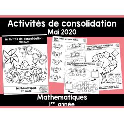 Activités de consolidation- Mai