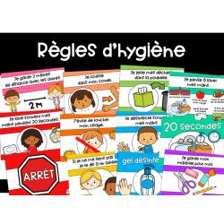 Affiches - Règles d'hygiène