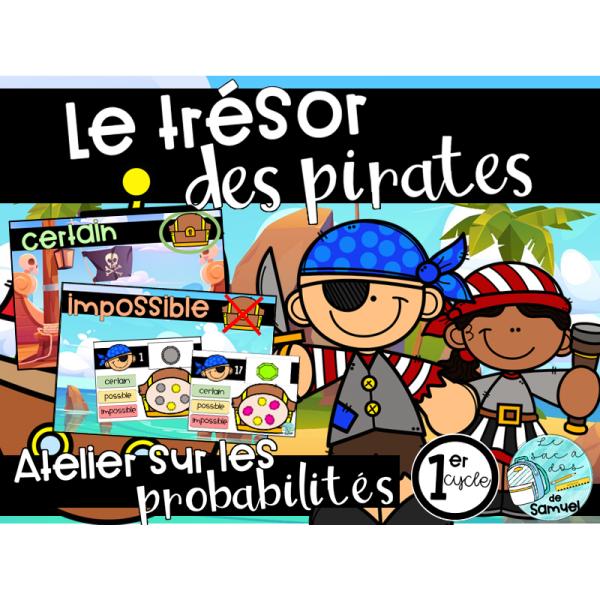 Le trésor des pirates - Atelier