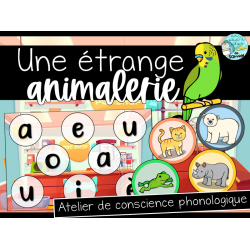 Étrange animalerie - Atelier  conscience phono.