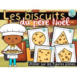 Les biscuits du père Noël - Atelier mathématiques