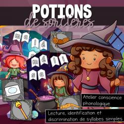 Potions de sorcières - Atelier conscience phono.