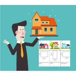 L'aire des maisons à vendre