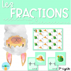 Les fractions - additions et soustractions