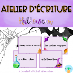 Atelier d'écriture - Halloween