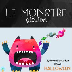 Le monstre glouton - Système d'émulation HALLOWEEN