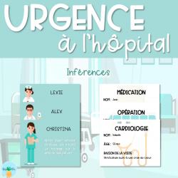Urgence à l'hôpital - Inférences