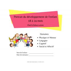 Portrait développement de l'enfant 18 à 24  mois