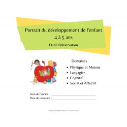 Portrait du développement de l'enfant 4 à 5 ans