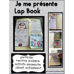 Je me présente - Lap Book