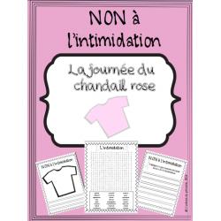 Cahier d'activités - Intimidation