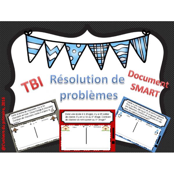 Résolution de problèmes - TBI - Math