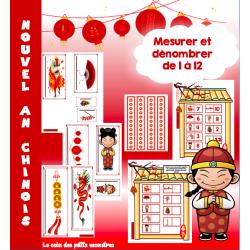 Mesurer nouvel an chinois