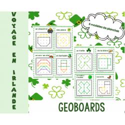 geoboards St Patrick