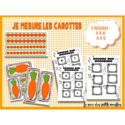 Je mesure les carottes