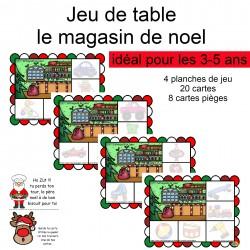 jeu de table : le magasin de noel ( jouet )