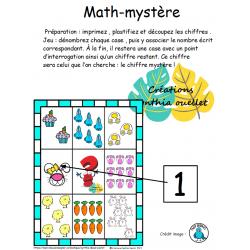 Math mystère pâques