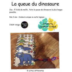 la queue du dinosaure