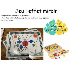 jeu : effet miroir