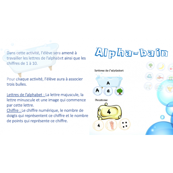 Alpha-bain - Jeu d'association