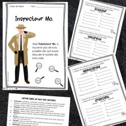 Inspecteur Mo. - Vocabulaire - 3e cycle