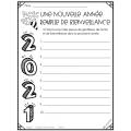 Année 2021 - Nouvelle année